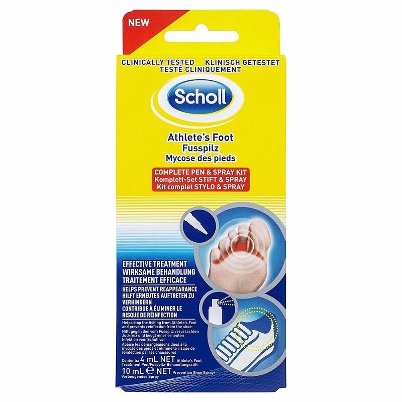 Scholl kit tratament pentru ciuperca piciorului
