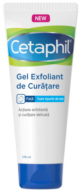 CETAPHIL GEL EXFOLIANT DE CURATARE 178ML