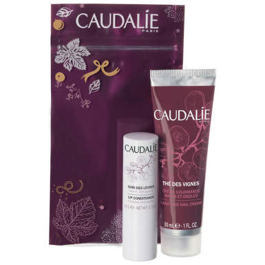 CAUDALIE 2349 SET THE DES VIGNES CREMA DE MAINI 30ML + BALSAM DE BUZE 4.5G