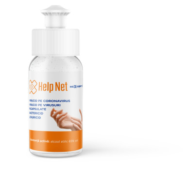 HELP NET HEXISEPT+ GEL 50ML