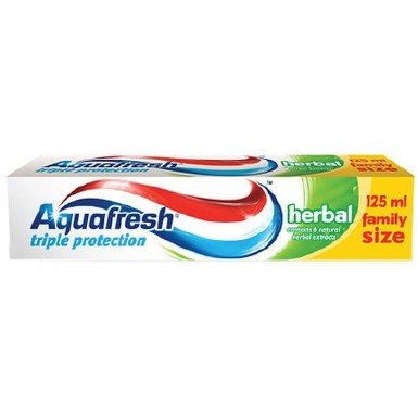 AQUAFRESH HERBAL PASTA DE DINTI 125ML