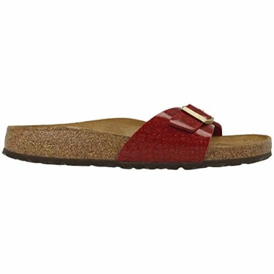 BIRKENSTOCK 1013631 PAPUCI MADRID MAGIC SNAKE BORDEAUX MARIMEA 39