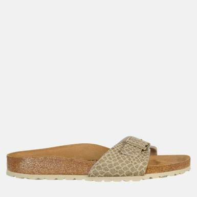 BIRKENSTOCK 1011754 PAPUCI MADRID MAGIC SNAKE GOLD MARIMEA 38