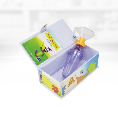 HUF PUF KIT CIPLA INHALATOR