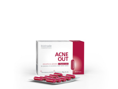 BIOTRADE ACNE OUT 30CPS