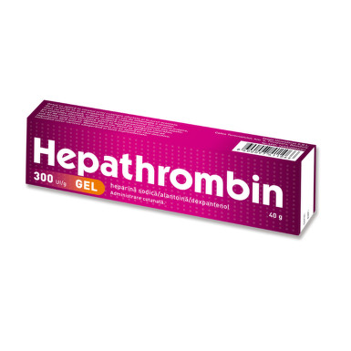 HEPATHROMBIN 300UI/G GEL 40G