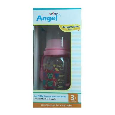 ANGEL 11405 BIBERON CU MANERE SI CAPAC 125ML