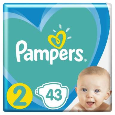 PAMPERS 2 ACTIVE BABY 4-8KG SCUTECE 43BUC