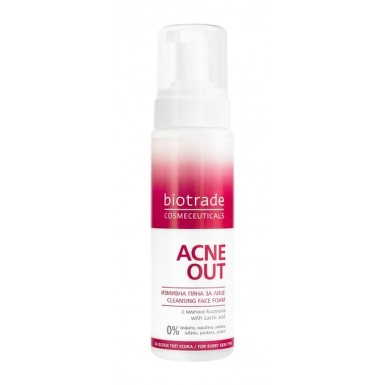 BIOTRADE ACNE OUT SPUMA DE CURATARE 200ML
