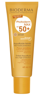 BIODERMA PHOTODERM MAX AQUAFLUIDE CLAIRE SPF50+ 40ML