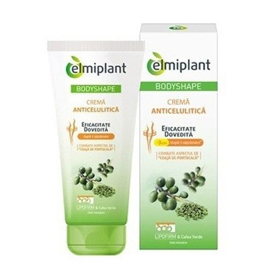 ELMIPLANT ANTICELLULITE CREAM BODYSH 200ML