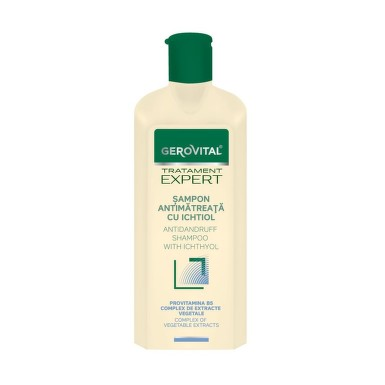 GEROVITAL TRATAMENT EXPERT SAMPON ANTIMATREATA CU ICHTIOL 250ML