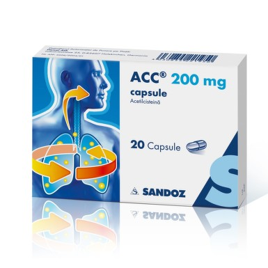 ACC 200MG X 20CPS