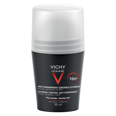 VICHY HOMME DEO ROLL ON CONTROL EXTREM EFICACITATE 72H 50ML