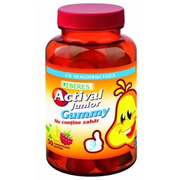 BERES ACTIVAL JUNIOR GUMMY 50CPR GUMATE