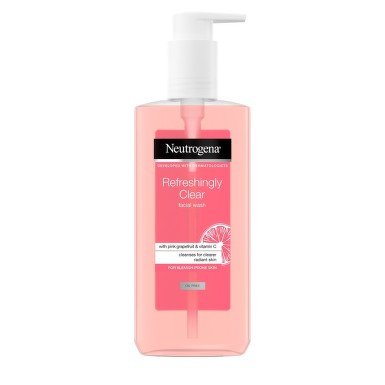 Neutrogena_Refreshingly Clear wash 200ml