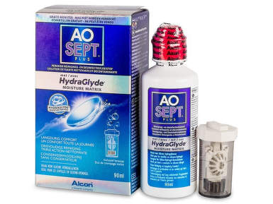 AOSEPT PLUS HYDRAGLYDE SOLUTIE 90ML