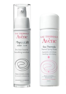 AVENE PHYSIOLIFT EMULSIE 30ML + APA TERMALA SPRAY 150ML 70% REDUCERE LA AL-2LEA PRODUS