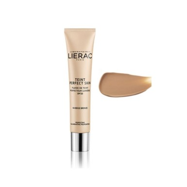 LIERAC FOND DE TEN FLUID ILUMINATOR 04 BRONZE BEIGE 30ML