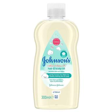 JOHNSONS BABY COTTON TOUCH ULEI 300ML