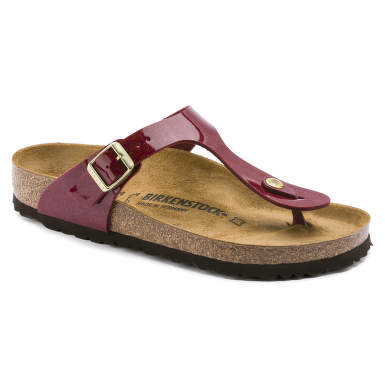 BIRKENSTOCK 1013629 PAPUCI GIZEH MAGIC SNAKE BORDEAUX MARIMEA 38