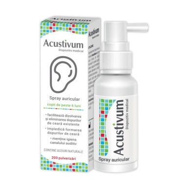 ZDROVIT ACUSTIVUM SPRAY AURICULAR 20ML