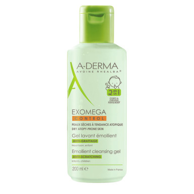 A-DERMA EXOMEGA CONTROL GEL 2IN1 200ML