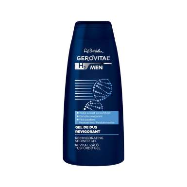 GEROVITAL H3 MEN GEL DUS REVIGORANT 400ML