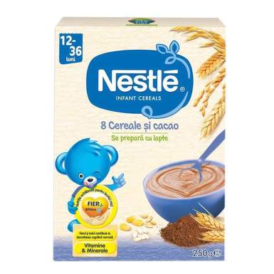 NESTLE 12093688 CEREALE 8 JUNIOR 250G
