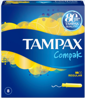 TAMPAX COMPAK SINGLE NORMAL TAMPOANE 8BUC