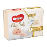 HUGGIES ELITE SOFT MARIME 1 2-5KG 26BUC