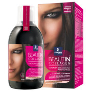 BEAUTIN COLLAGEN MAGNEZIU CAPSUNI VANILIE LICHID 500ML