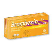 HELCOR BROMHEXIN 8MG X 20CPR