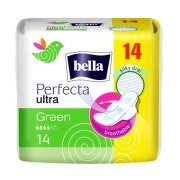 BELLA PERFECTA GREEN ABSORBANTE 14BUC