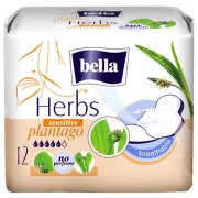 BELLA HERBS SENSITIVE PATLAGINA ABSORBANTE 12BUC