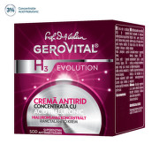 GEROVITAL H3 EVOLUTION CREMA ANTIRID CONCENTRATA CU ACID HIALURONIC 50ML