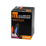 LANCETE WELLION 33G X 0.2MM X 50BUC