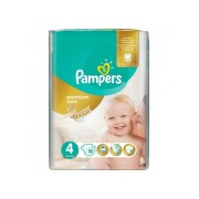 PAMPERS 4 PREMIUM CARE MAXI SCUTECE 18BUC
