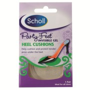 SCHOLL PARTY FEET HEEL CUSHIONS BRANTURI