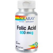 SECOM ACID FOLIC 800MCG X 30CPS