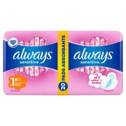 ALWAYS SENSITIVE ULTRA PLUS DUO PACK ABSORBANTE 20BUC