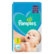 PAMPERS 1 NEW BABY 2-5KG SCUTECE 43BUC