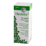HEDELIX 40MG/ML PICATURI ORALE 20ML