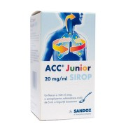 ACC JUNIOR 20MG/ML SIROP 100ML