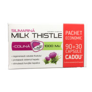 ZDROVIT SILIMARINA MILK THISTLE + COLINA 90CPS + 30CPS CADOU