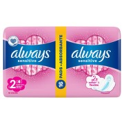 ALWAYS SENSITIVE ULTRA SUPER PLUS DUO PACK ABSORBANTE 16BUC