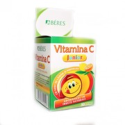 BERES VITAMINA C JUNIOR 30CPR MASTICABILE