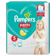 PAMPERS 5 PANTS ACTIVE BABY 12-18KG SCUTECE-CHILOTEL 22BUC