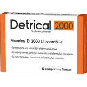 Detrical Vitamina D UI - Zdrovit, 60 comprimate (Vitamine si minerale) - dieta-daneza.ro
