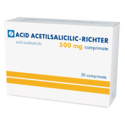 RICHTER ACID ACETILSALICILIC 500MG X 30CPR